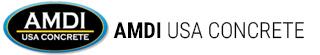 AMDI USA Concrete Logo